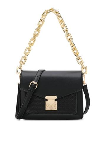 Wild Channel black Chain Top Handle Bag BDF7DAC7E52B9EGS_1