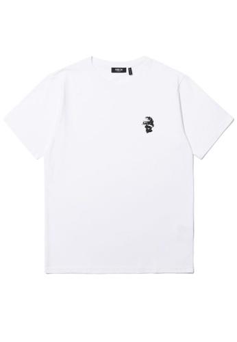 Fivecm white Sculpture logo tee CD090AAAE107C5GS_1