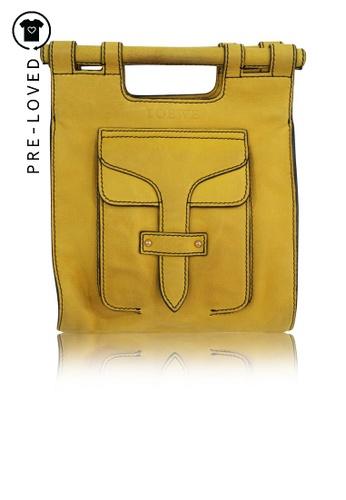 LOEWE yellow Pre-Loved loewe Yellow Crossbody Bag 6D75EACC75BB2EGS_1