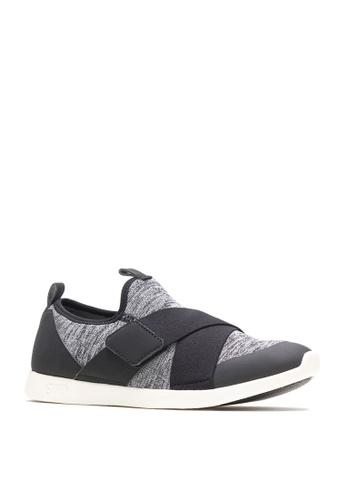 Hush Puppies black Womens Shoes Shihtzu Gore Strap - Textile 7E2ABSH05D037EGS_1