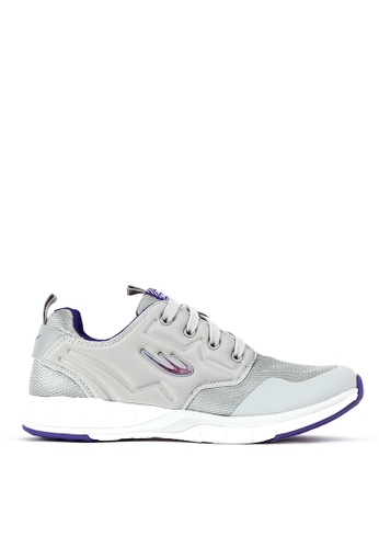 World Balance grey Fierce Trainer L Running Shoes F3AE5SHD8CF9A9GS_1