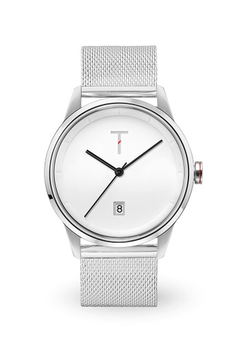 Tylor white and silver Cali Vibe Watch TY212AC0JF6DPH_1