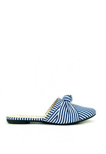 Mario D' boro Runway blue Anika Flats 23337SH000D7DFGS_1