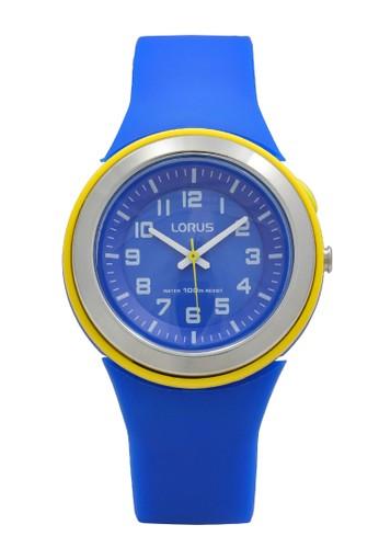Lorus blue LORUS Jam Tangan Wanita - Blue Yellow - Silicon - R2307MX9 33390AC4DD1D4DGS_1