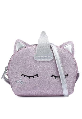 KOTON pink Glitter Unicorn Bag 69CFFKC5144BF9GS_1