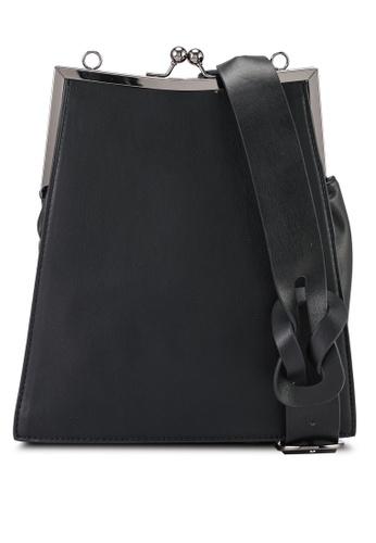 Keddo black Rosabelle Sling Bag 473A5ACB84DD4FGS_1