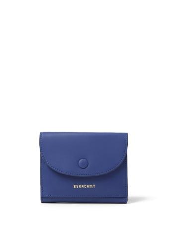 BERACAMY blue BERACAMY Tri-fold Compact Wallet - Inky Blue CD458AC803C2EDGS_1