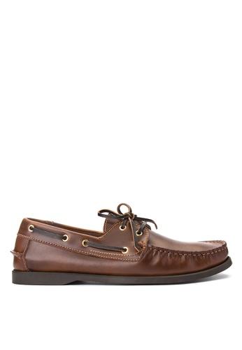 Alberto brown Top Sider Loafers AL375SH0IRQUPH_1