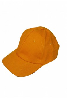 Plain Yellow Gold Baseball Cap