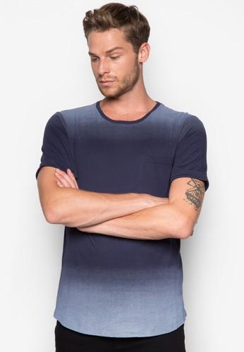 漸層色口袋TEEesprit門市地址, 服飾, 素色T恤