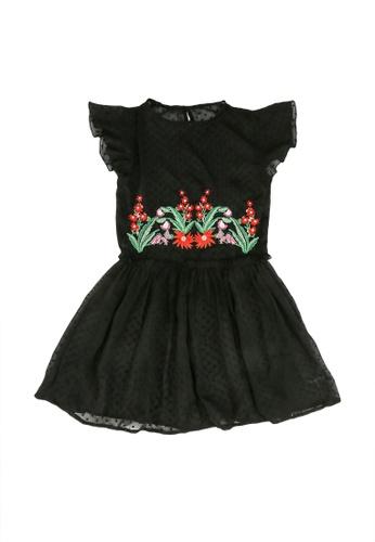 Desigual black Embroidery Dress 69D8FKAF15EFCBGS_1