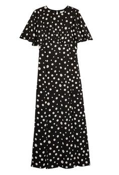 0fc3750dde TOPSHOP Austin Polka Dot Print Angel Sleeve Dress S$ 89.90. Sizes 6 8 10 12