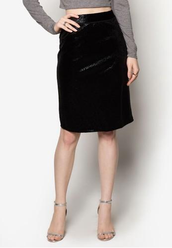 亮面zalora鞋子評價鉛筆裙, 服飾, 迷你裙