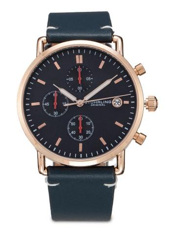 Stuhrling Original gold Monaco 3903 Watch B6622AC3F7F5FBGS_1