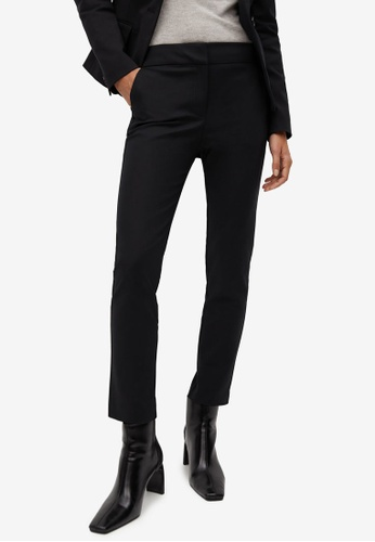 Mango black Suit Slim-Fit Trousers A4CADAA042EC43GS_1