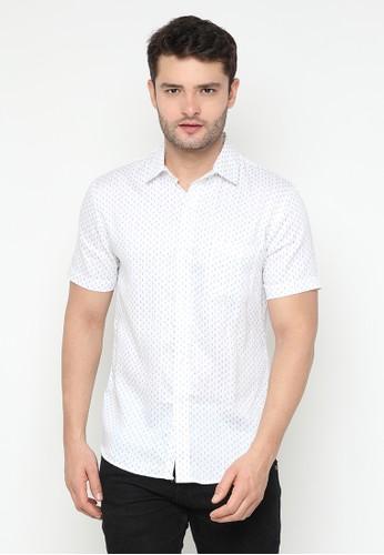 JOULDAS white Jouldas White Men Printed Shirt EDCF2AA789A624GS_1