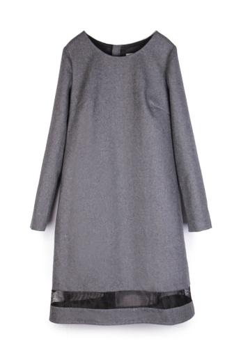 Sunnydaysweety grey Grey Fabric One Piece Dress 1822D0521 2703AAA6ED48B6GS_1