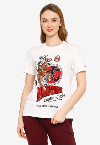 Superdry white Rising Sun T-Shirt D86B4AAC5E5E1EGS_1