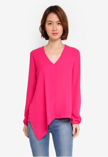 OVS pink Long Sleeve Blouse 96614AA492584CGS_1