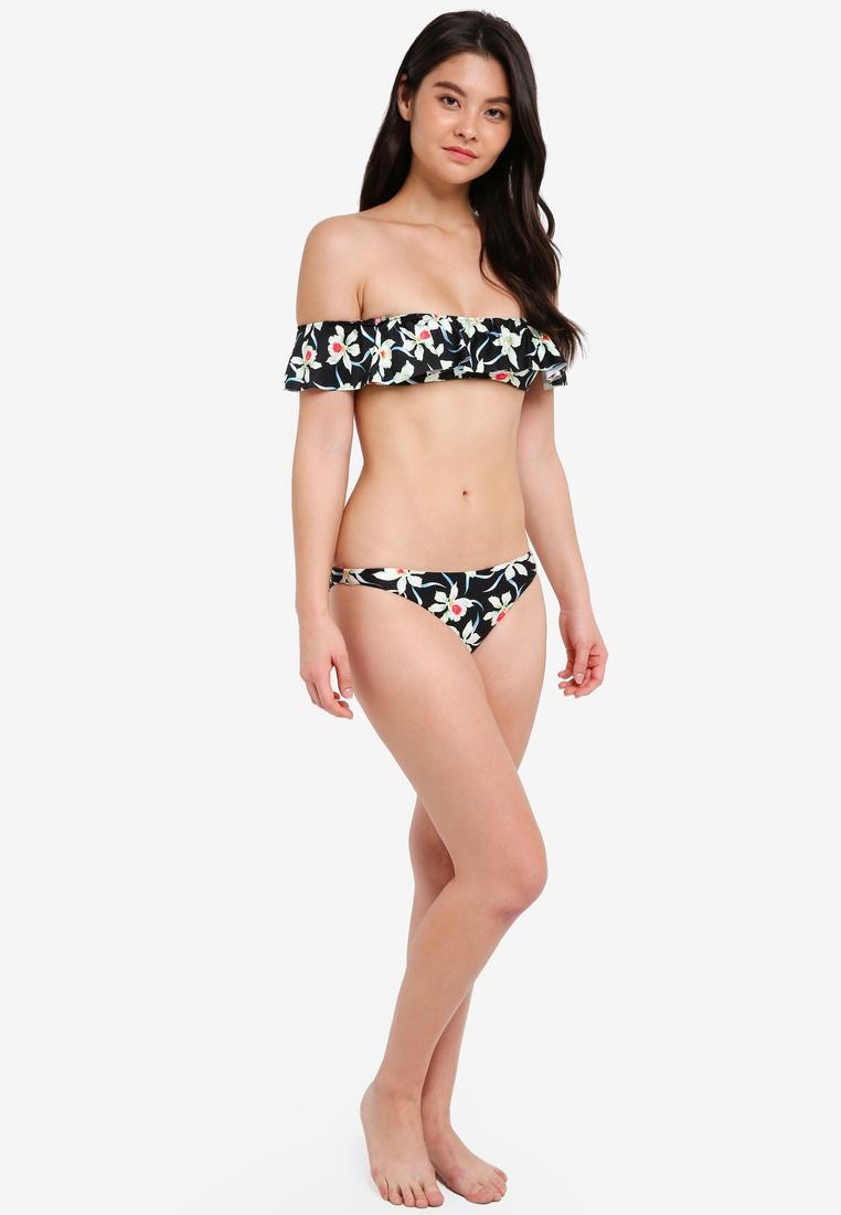 Black Yshey Cleo Set Reversible Bikini Floral wnzxnvX4q