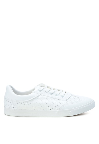 MICK + MARTY white AY Raven Laced-up Sneakers MI681SH0K9F9PH_1