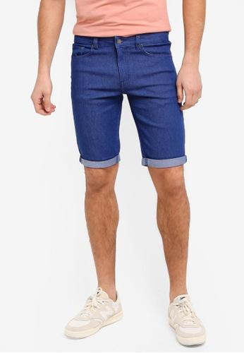 threads by the produce blue Bermudas Shorts F14EDAA68FAE24GS_1