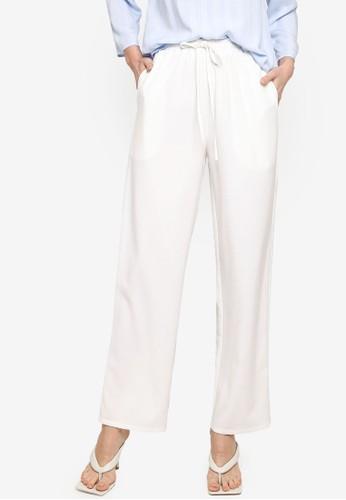 ZALIA BASICS white Lounge Trousers AE09CAA72EB518GS_1
