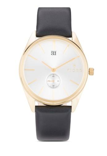 Ursa 簡約皮革手錶,esprit 衣服 錶類, 飾品配件