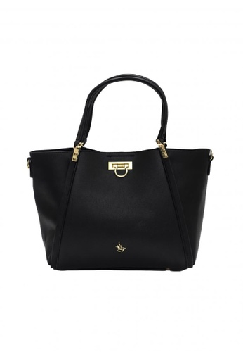 POLOVENZI black POLOVENZI Ladies Hand Bag + Free Gift 44A85AC0A80F89GS_1