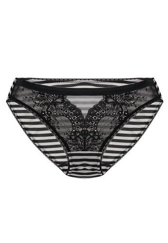 LAVABRA Intimates black Very Sexy Panty - Clara Sexy Lace Microfiber Bikini Panty LA387US63SLOID_1
