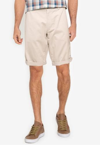 Ben Sherman grey Signature Chino Shorts D5D92AA242BDCEGS_1
