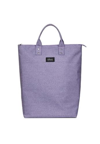 ideer purple Morris Lavender 2 way Laptop Backpack ID960AC89HWSHK_1