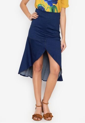 2601453ff2 Kamiseta blue Love Marie For Kamiseta Dainty Denim Skirt 3B341AAF8C5D2EGS_1