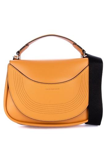 Calvin Klein brown Flap Crossbody 483B1ACAB01020GS_1
