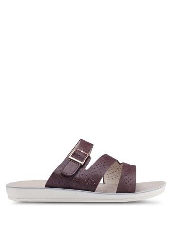 Noveni 褐色 休閒涼鞋 7499BSH34A95CEGS_1