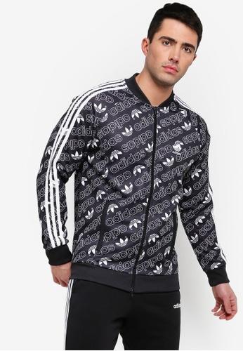 990c53d2be adidas black adidas originals monogram track jacket F729EAAEBF2303GS 1