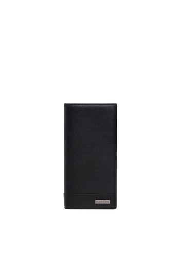 SEMBONIA black SEMBONIA Men Genuine Leather Long Wallet (Black) E31EBAC8947F7CGS_1
