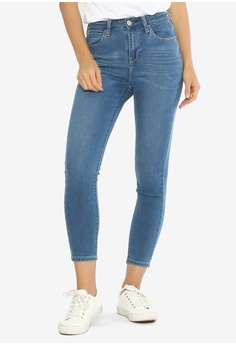 e0913d27 Lee blue Women's Denim Jeans Pants Heather Super Hi-Waist 3586AAAC238C63GS_1