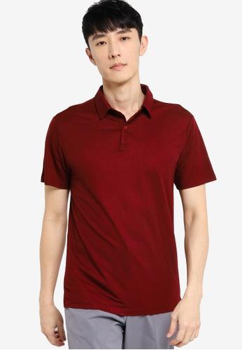 ZALORA BASICS red Soft Pique Polo Shirt C76ADAA28CD62FGS_1