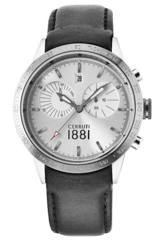 CERRUTI 1881 black Chronograph Black Strap Men Watch CE514AC70QNHMY_1