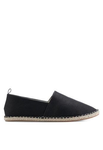 ZALORA black Essential Canvas Espadrilles 243EDSH63660D6GS_1