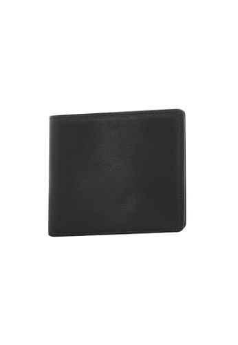 Buckle black Wilbur Leather Wallet with RIFD Protection 9C277AC73EAA8AGS_1