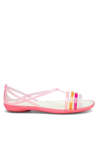 Twenty Eight Shoes pink Jelly Strappy Rain and Beach Sandals VR1808 B17C2SHC37C560GS_1