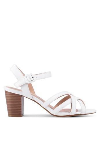 Dorothy Perkins white White Sandy Heeled Sandals 57EB7SH7D49607GS_1