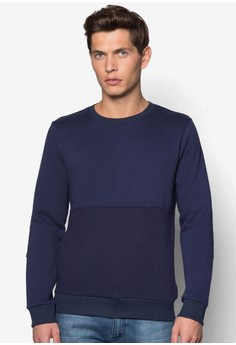 Textured Details Sweatshirt