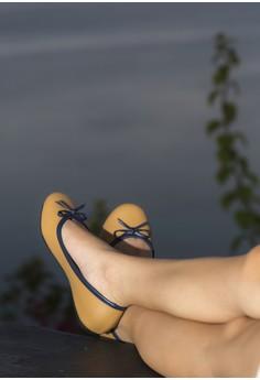 Bianca Ballet Flats Tan