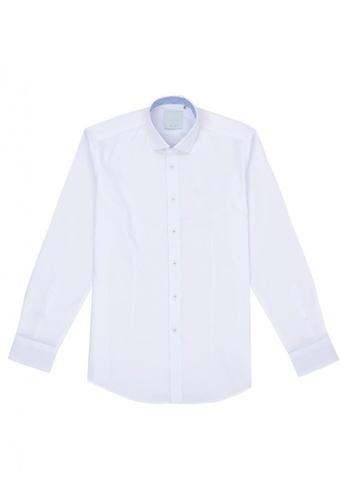 Benjamin Barker white Winchester White Twill Shirt DF4B5AA104B74AGS_1