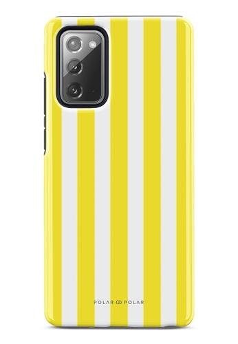 Polar Polar yellow Yellow Stripe Dual-Layer Tough Case Glossy For Samsung Galaxy Note20 5G 8AAF5AC56949A5GS_1