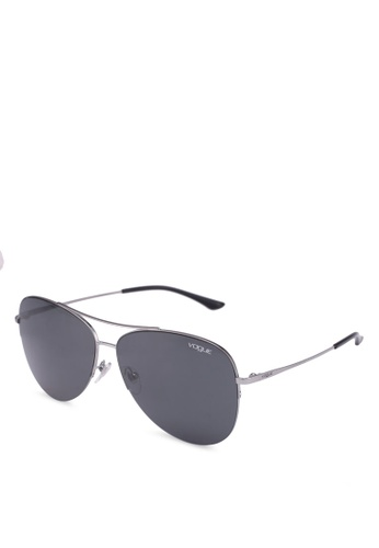 Vogue grey In Vogue VO4029SD Sunglasses B04B1GLF1F6737GS_1