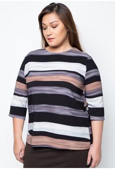 Plus Size Lanley Stripe Top